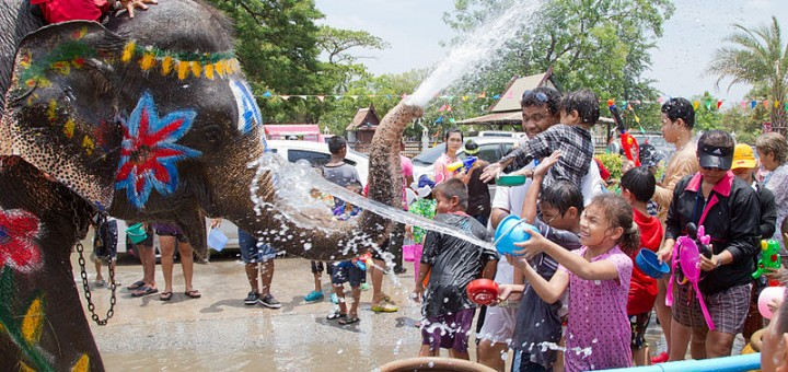 Songkran Chiang Mai Thailand 2014
