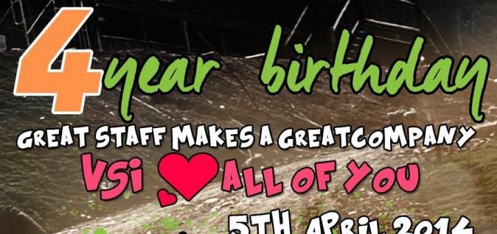 VSI-Group 4 års fødselsdag