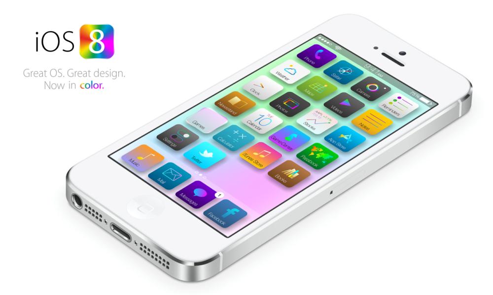 iOS 8 præsenteret til WWDC 2014