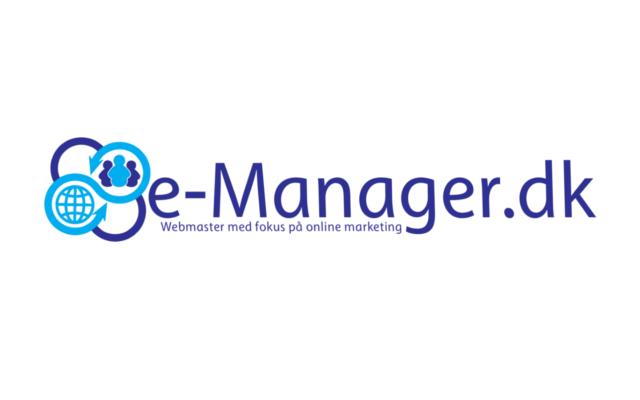 e-Manager.dk – din nye webmaster.