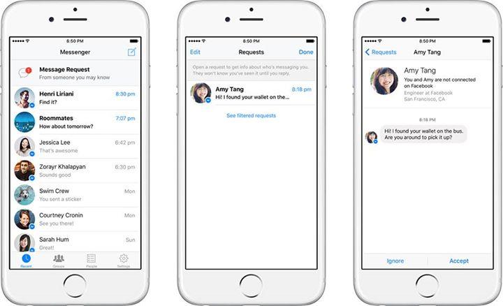 Facebook opdatere Messenger
