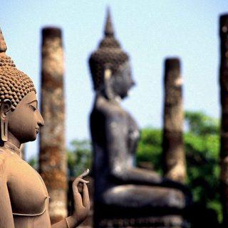 Se kort over Thailand