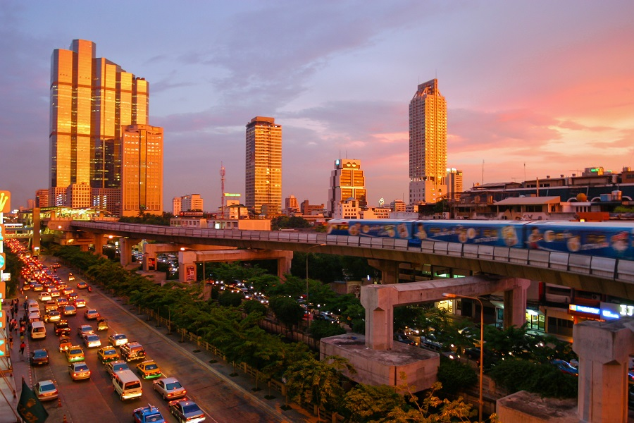 Bo i Thailand