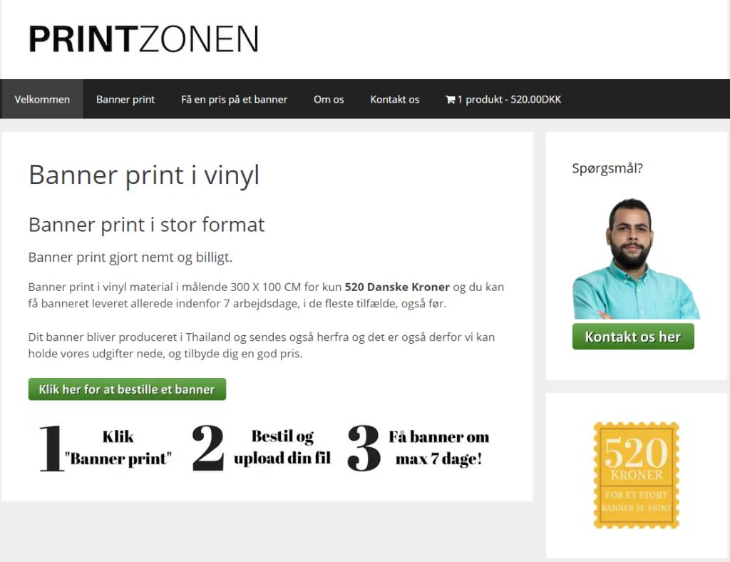Banner print nemt og billigt