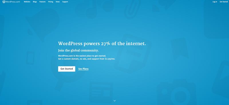 Opret WordPress hjemmeside eller blog
