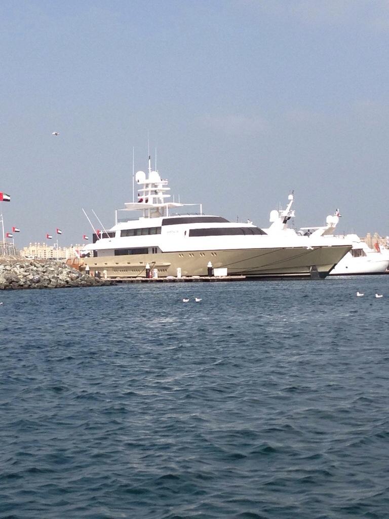 Sheik Mohammed bin Rashid Al Maktoum Yacht