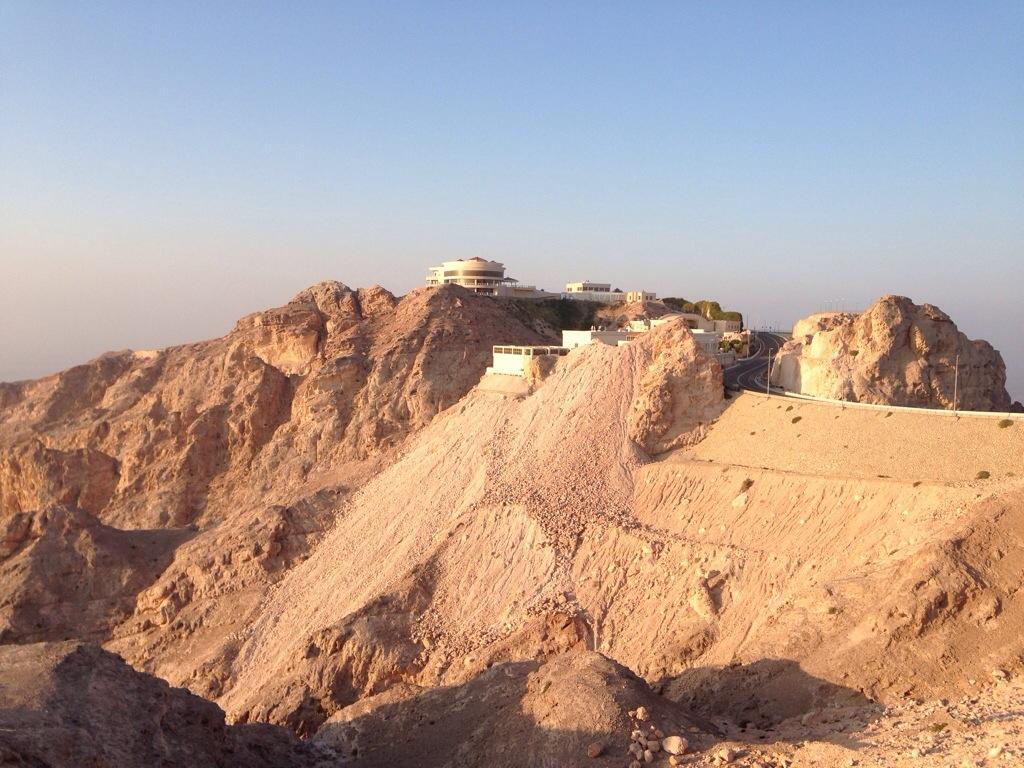 Bjerg i Abu Dhabi