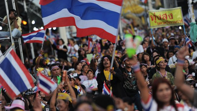 Thailands militær overtager Bangkok