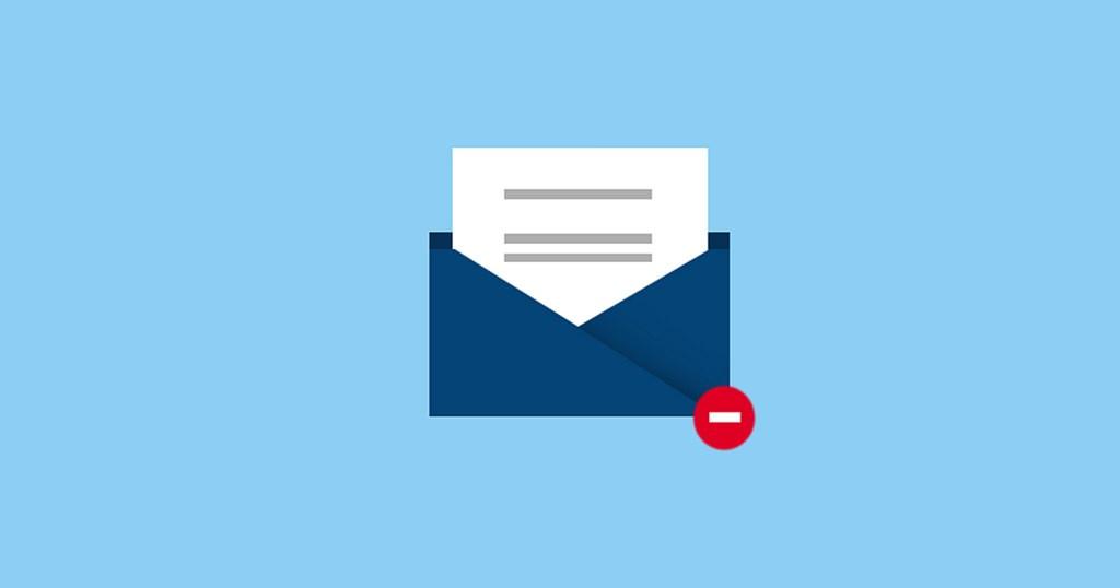21% af e-mail markedsføring fejler
