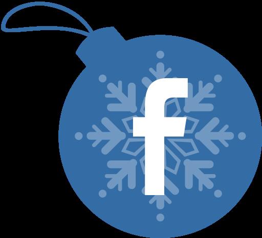 Jul på facebook