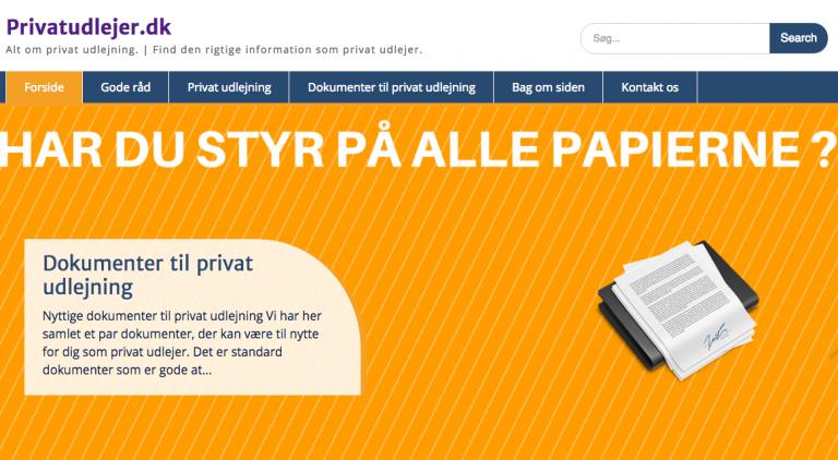 Read more about the article Status på projekt Privatudlejer.dk
