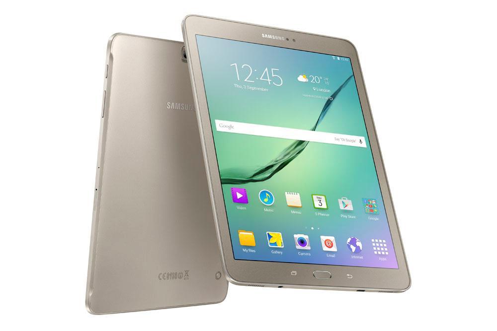 Samsung Galaxy Tab S2 guld