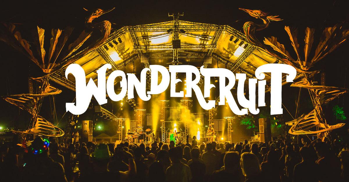Wonderfruit festival i Pattaya, Thailand.