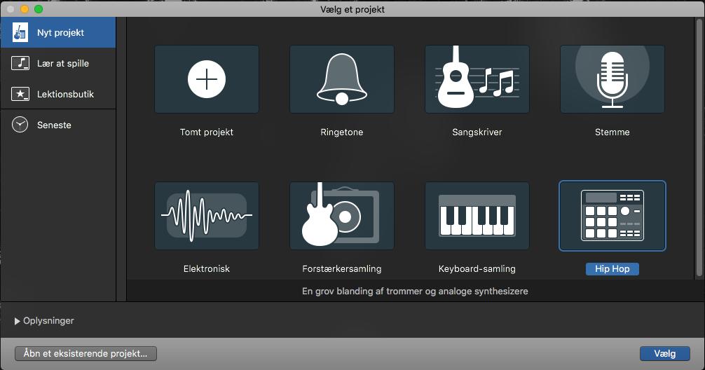 Lav musik med din Mac